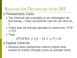 bid rate interest rate parity defined covered interest arbitrage interest