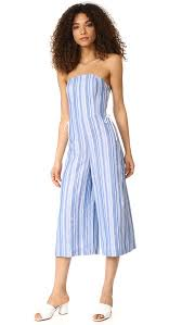 club monaco outlet new trendy club monaco allentin jumpsuit blue white stripe for
