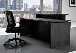 Executive Reception Desk Vertdesk Executive Series Sit To Stand Reception Desk