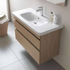 Wall Mount Vanity Sink Durastyle Wall Mounted Vanity Base Double Drawer By Duravit Yliving