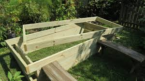 how to build a raised bed vegetable garden frame cost build