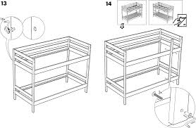Ikea Mydal Bunk Bed Download Ikea Mydal Bunk Bed Frame Twin Assembly Instruction For