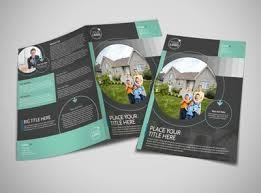 licensed real estate agents brochure template mycreativeshop