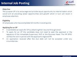 Internal Job Resume by Welcome To E Nxt Family Induction Programme January Ppt Download