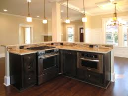 kitchen with stove in island style stove on island photo gas stove on kitchen island stove