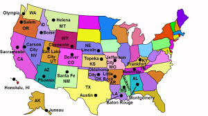 Ohio Map With Cities by State Capitals Song Youtube