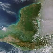 Yucatan Peninsula Map Earth Snapshot U2022 Comparative Look At Yucatan Peninsula Over Past
