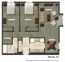 apartment floor plan collection