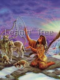 leanin tree dreamcatcher birthday greeting card bdg41625 buffalo