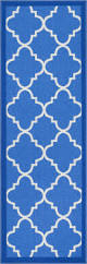 dallas moroccan trellis dark blue and white modern geometric