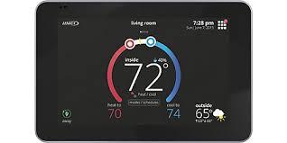 Prestige Iaq 2 0 Comfort System Programmable Thermostats Lennoxpros Com