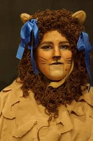 lion costume wizard of oz how to make a curly lion u0027s mane youtube