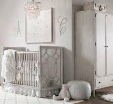 chambre fille et blanc chambre enfant décoration chambre bébé fille blanc gris idées