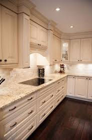 Best  Granite Backsplash Ideas On Pinterest Kitchen Cabinets - Kitchen granite and backsplash ideas