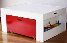 kids table with storage super practical arts and crafts kids activity table by hip kids