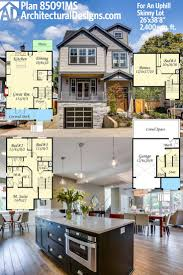 best ideas about narrow house plans pinterest lot architectural designs house plan only wide perfect for