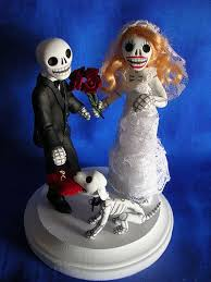 day of the dead wedding cake topper flickriver photoset wedding cake toppers by claylindo