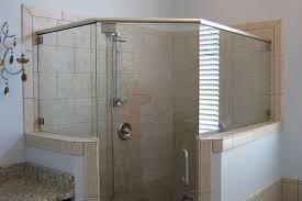Frameless Shower Door Installation Semi Frameless Shower Door Installation Lustwithalaugh Design