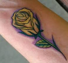 red and yellow rose tattoo pictures to pin on pinterest tattooskid
