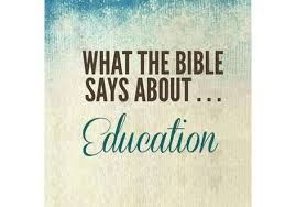 what the bible says about education of wisdom homeschool