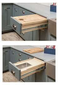 Cutting Board With Trays by Organize Your Cabinets Custom Cabinets
