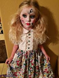 China Doll Halloween Costume Cracked Doll Costume Costume Works Halloween Costume Contest