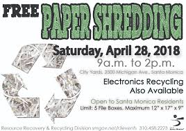 where to shred papers for free santa works events