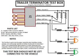 trailer light wiring diagram wiring diagram and fuse box diagram