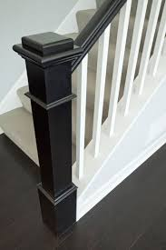 Stair Banisters Railings White And Gray Staircase With Wainscoting Built Ins Pinterest