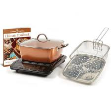 copper chef xl induction cooktop and 11