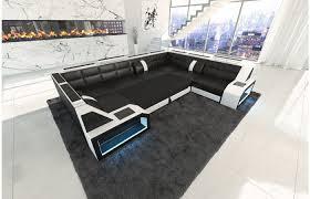 couch u form modernes sofa pesaro in der u form als ledersofa oder polstersofa