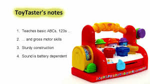 Learn Bench Fisher Price Toys Laugh U0026 Learn Tool Bench Toy Review Youtube