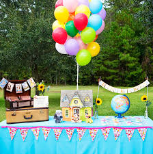 Up Decorations Real Up Themed Birthday Hostess With The Mostess