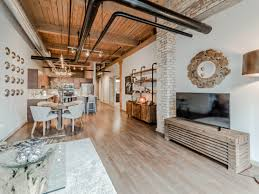 tour a new 2 bedroom timber loft apartment in streeterville the