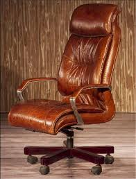 Vintage Swivel Chair Vintage Brown Leather Wooden Office Swivel Chair Buy Office