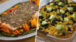 one dish dinners 7 layer chicken casserole mustard salmon with