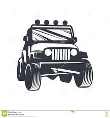 jeep cartoon drawing vector offroad car4 stock vector image 72405250