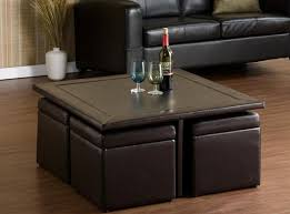 Leather Ottoman Tray by Sympathetic Chinese Cabinet Tags Boho Coffee Table Leather