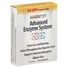 rainbow light advanced enzyme system rainbow light advanced enzyme system vcaps 10 ct from whole foods