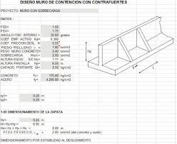 retaining wall design spreadsheet retaining wall design in