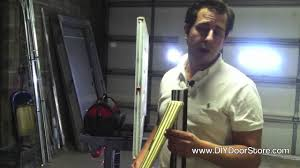 Exterior Door Sweeps by Masonite Johnson Door Sweep Tutorial Youtube