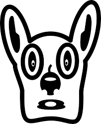 clipart cartoon dog face