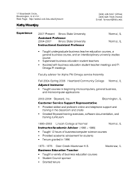 Best Resume Format For Assistant Professor by Resume English Resume For Your Job Application