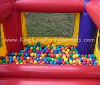 rent a pit kingkongpartyrentals moonwalks toddler moonwalk and