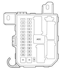 2004 mazda tribute fuse box diagram mazda wiring diagrams for