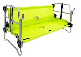 DiscOBed KidOBunk Lime Green Tentworld - Oztrail bunk beds