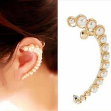 ear cuffs ear hugging ear cuffs indian beauty tips