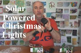 Solar Powered Fairy Lights Review by Solar Powered Christmas Lights Review Part 1 Epicreviewguys In