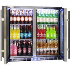 glass door bar alfresco glass twin door bar refrigerator alfresco australia