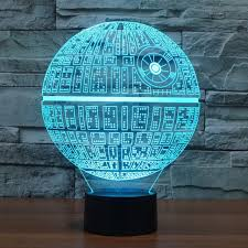 multi color lava l star wars inspired death star 3d optical illusion l 3d optical l